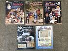 Plastic Canvas Christmas Holiday Pattern Book Lot Nativity Advent Calendar