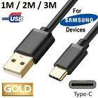 USB C CABLE for SAMSUNG CELL MOBILE PHONE FAST CHARGER CORD choose 3FT 6FT 10FT