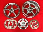 GENUINE 2007 HARLEY VROD REACTOR WHEELS CVO ROTORS PULLEY MAGS RIMS V-ROD VRSC