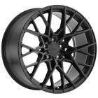 4 TSW Sebring 17x8 5x1143 5x45 +40mm Matte Black Wheels Rims