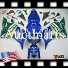 For Honda CBR600RR 2009-2012 Fairing Bodywork ABS Blue Green Movistar 1n58 PA