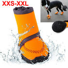 Pet Dog Puppy Warm Boots Outdoor Waterproof Anti Slip Shoes Rain Snow Booties US
