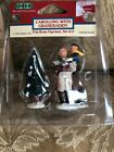 LEMAX VINTAGE SET OF CAROLLING WITH GRANDDADDY FIGURE VILLAGE Collection 1999