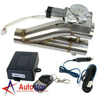 25 inch 63mm Exhaust Control E cut Out Dual Valve Electric Y Pipe w Remote Kit