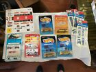 Vintage DieCast Mixed Lot School Buses  Stickers lot of 12 Circa 1980s NIB