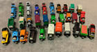 Thomas And Friends Wooden Railway Lot Of 36 Different Engines, Tenders And Cars
