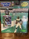CURTIS MARTIN 1999 New York Jets Starting Lineup Action Figure + Card