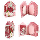 Lace Background Cutting Dies Scrapbooking Metal Embossing Cut Card Making DIY