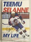 TEEMU SELANNE AUTO 2019 MY LIFE BOOK - SIGNED AUTOGRAPH FRONT COVER BOOK