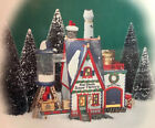 Department 56 Real Plastic Snow Factory North Pole Series W Box