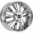 4 18x8 Chrome Wheel MKW M122 5x110 5x115 40