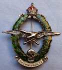 WW1 AUSTRO HUNGARIAN ARMY STORM TROOPERS UNIFORM BADGE