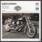 1990 Harley-Davidson 1400 Dyna Glide Sturgis Edition Motorcycle Photo Info Card