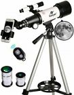 Gskyer Telescope Travel Scope 70mm Aperture 400mm AZ Mount Astronomical
