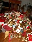 Huge Lot of Vintage Christmas Tree Ornaments Holiday Decor OVER 80 Pieces