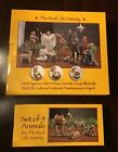 LOT Set of 14 Christmas 7 inch Real Life Nativity Set PLUS 4 Animals Set