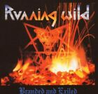 Running Wild - Branded And Exiled - Running Wild CD 48VG The Fast Free Shipping