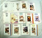 VTG 1995 WW Weight Watchers Program Materials Binder Pamphlets Trackers Recipes