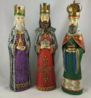 Schmid Bros Three Wise Men Christmas Nativity Set Made in Japan Paper Mache