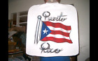 PUERTO RICO FLAG Airbrushed T shirt or Hood Custom Made Personalized Sizes to 6X