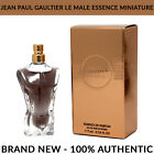 Jean Paul Gaultier Le Male Essence de Parfum for Men Miniature 7ml Splash - NEW