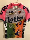 Vintage Mens Small Medium Castelli Lotto 90s Cycling Jersey Good Condition