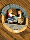 VINTAGE HALLMARK ORNAMENT!  PEACE ON EARTH POLAND ! 1993