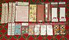 LOT of 20 CHRISTMAS Related Scrapbooking Sticker Sheets Packs New Unopened