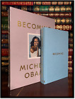 Becoming SIGNED by MICHELLE OBAMA New Deluxe Cloth Bound Gift Edition Hardback