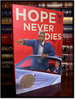 Hope Never Dies SIGNED by ANDREW SHAFFER New Barack Obama Joe Biden Mystery