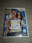 Biggest Loser Challenge Nintendo Wii 2010 Fitness Workout Game Balance Board