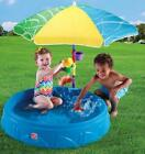 Shade Pool Kiddie Swimming Step2 Play Water Toys Plastic Umbrella Spinning Wheel