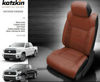 2014-2021 Toyota Tundra Double Cab Crewmax Black Cognac Outlaw Leather Seats