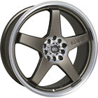 4 17x7 Bronze Wheel Enkei EV5 4x100 4x45 38