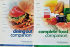 Weight Watchers Flex Points Complete Food  Dining out Companion book set