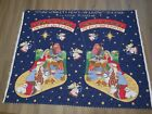 Susan Winget Peace on Earth Nativity Jumbo Christmas Stocking craft panel