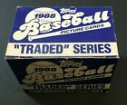 1988 Topps Traded Card Series Set - New