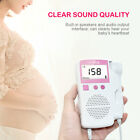 Us Prenatal Fetal Monitor Doppler Ultrasonic Detector Baby Heartbeat Monitor