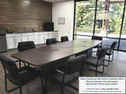 8 Ft Foot Conference Table And 6 Mid Back Chairs Set White Gray Black 8 Colors