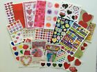 Assorted Valentine Heart stickers You Choose