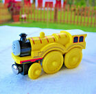 Rare Vintage Thomas & Friends MOLLY TRAIN ENGINE Wooden & Magnetic- no tender