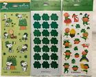 Stickers St Patricks Day 3 styles to choose from Hallmark New USA
