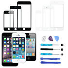 Front Touch Screen Replacement Glass Lens For iPhone 5 6 7 8 Plus 8pcs Tools Kit
