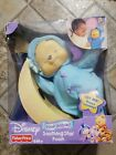 Disney Babies Baby Pooh Bear Soothing Star Musical Crib Plush Toy New in Box