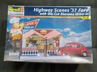 Revell Monogram 1937 Ford Highway Scenes Build Started NO DIORAMA