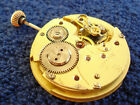 (120) Antikes Taschenuhrwerk Glashütte Union 1a Altes Werk Pocket Watch Movement