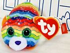 New McDONALDS TY TEENY TYs BEANIE BOOS Tiggy Tiger Plush Doll Happy Meal Toy # 5