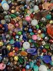 Sea Glass Beads Crystal Heart Assorted Mix Bead for Jewelry Making Adults Bulk