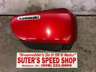 2002 Kawasaki Vulcan 1600 VN1600 Classic Red Right Side Cover Fairing Cowling