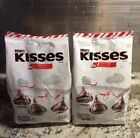Hersheys Kisses CANDY CANE Peppermint Kisses 2 LBS x 2 BAGS Free Ship 7 2020